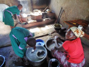 The Water Project:  Mary Atieno The School Cook
