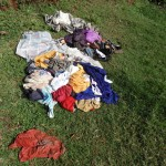 The Water Project: Ebuhando Community -  Clothes On Ground