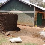 The Water Project: Eshisuru Primary School -  Concrete Work
