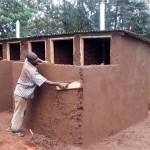 The Water Project: Ematsuli Primary School -  Latrine Construction