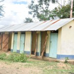 The Water Project: Ngaa Primary School -  Boys Latrines