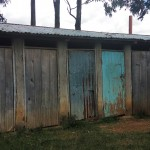 The Water Project: Namalenge Primary School -  Latrines