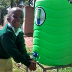 The Water Project: Mukhombe Primary School -  Hand Washing Station