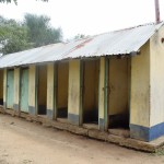 The Water Project: Ngaa Primary School -  Girls Latrines