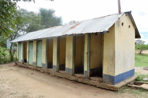 The Water Project:  Girls Latrines