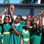 The Water Project: Mukhombe Primary School -  Latrines
