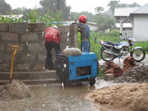 The Water Project:  Working In The Rain