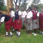 The Water Project: Bishop Sulumeti Girls Secondary School -  Hand Washing Stations