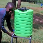 The Water Project: Ebukanga Primary School -  Hand Washing Stations