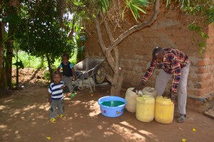 The Water Project : 14-kenya4765-household-2-water-containers