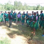 The Water Project: Chandolo Primary School -  School Choir