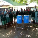 The Water Project: Eshisuru Primary School -  Hand Washing Stations
