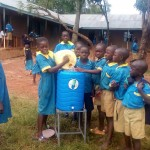 The Water Project: Ematsuli Primary School -  Hand Washing Stations