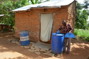 The Water Project : 15-kenya4765-household-2-water-containers