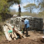 The Water Project : 16-kenya4758-sand-dam-construction