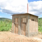 The Water Project: Kaani Community B -  Household Latrines