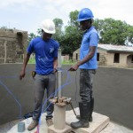 The Water Project: Benke Community, Brima Lane -  Pump Installation
