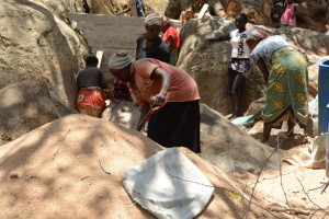 The Water Project : 17-kenya4758-sand-dam-construction