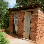 The Water Project: Ngaa Community -  Household Latrines
