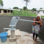 The Water Project: Benke Community, Brima Lane -  Successful Installation