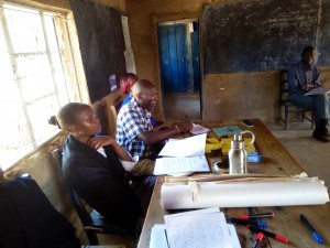 The Water Project:  Teachers Attending Training