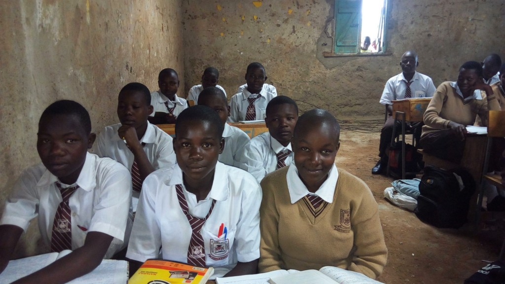 The Water Project : 2-kenya4693-students-in-class