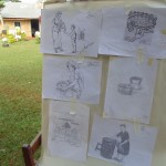 The Water Project: Nyira Community, Ondiek Spring -  Training Illustrations