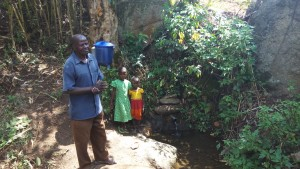 The Water Project:  Mr Laurence And Grandchildren