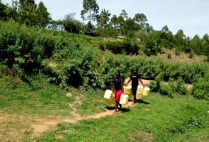 The Water Project:  Women Going To Fetch Water