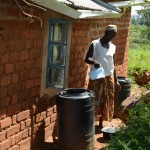 The Water Project: Kaani Community E -  Rose Nduku Water Storage