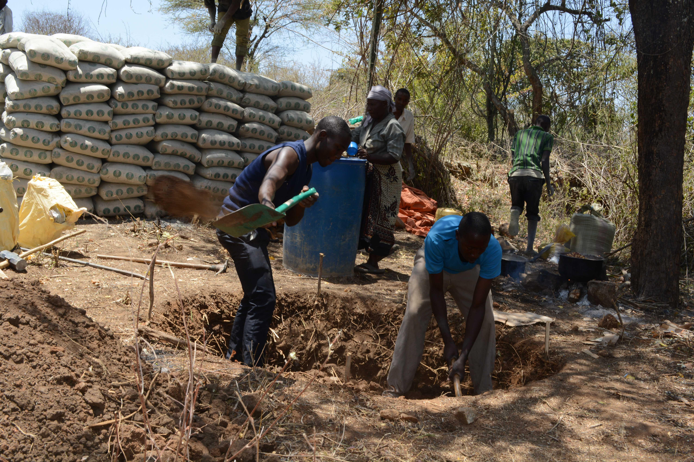 The Water Project Kenya Waita Community A