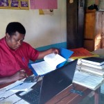 The Water Project: Eregi Mixed Primary School -  Headteacher Of Eregi Primary