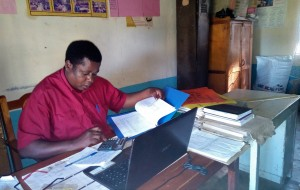 The Water Project:  Headteacher Of Eregi Primary