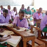 The Water Project: Chandolo Primary School -  Students In Class