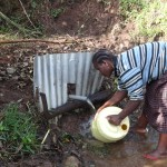 The Water Project: Shitungu Community C -  Washing Container