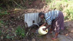 The Water Project:  Washing Container