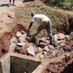 The Water Project : 22-kenya4719-spring-construction