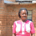 The Water Project: Kaani Community A -  Household Mbithe Nzomo