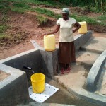 The Water Project: Handidi Community -  Mrs Grace Malezi At The Spring