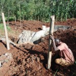 The Water Project : 25-kenya4719-building-a-fence