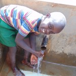 The Water Project: Nyira Community, Ondiek Spring -  Clean Water