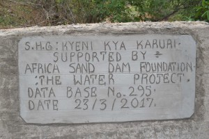 The Water Project : 29-kenya4758-finished-sand-dam