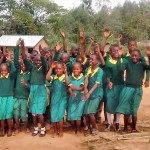 The Water Project: Buhunyilu Primary School -  Students Excited About A Project