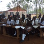 The Water Project: Shiyabo Secondary School -  Class Under A Tree