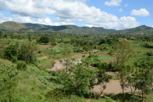 The Water Project : 3-kenya4770-first-sand-dam