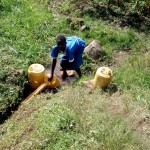 The Water Project: Shivagala Community A -  Fetching Water