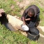 The Water Project: Timbito Community B -  Fetching Water