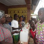 The Water Project: Benke Community, Turay Street -  Making Hand Washing Stations