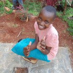 The Water Project: Nyira Community, Ondiek Spring -  Sanitation Platform
