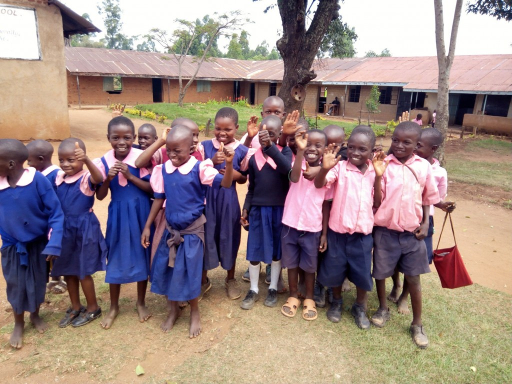 The Water Project : 4-kenya4655-students
